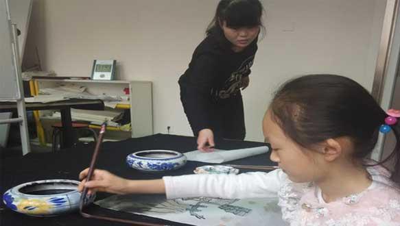东方童少儿国画课程培训班