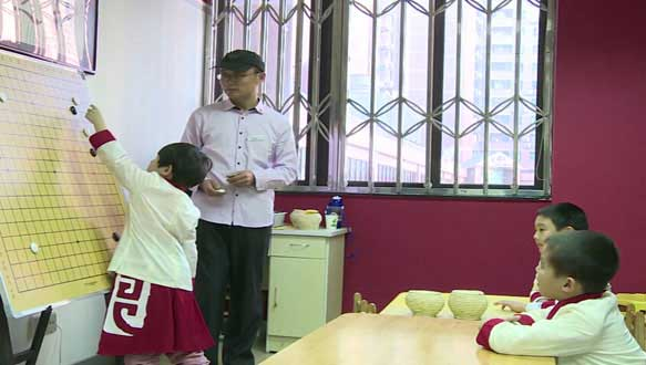 东方童少儿围棋课程培训班