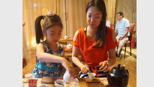普悦亲子茶艺课程