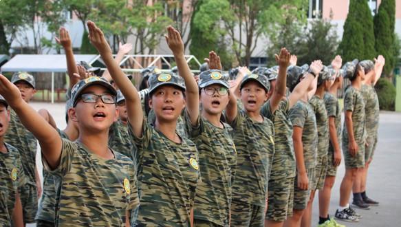 中国青少年军事训练营—28天军事特训营(上海)