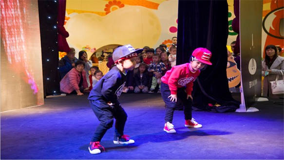 幼儿hiphop街舞启蒙课程
