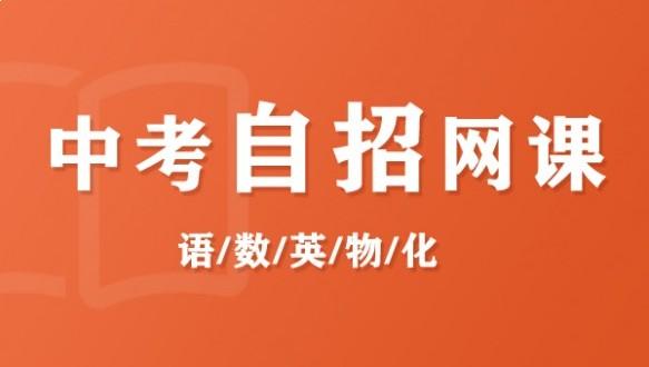 上海昂立--中考自招网课