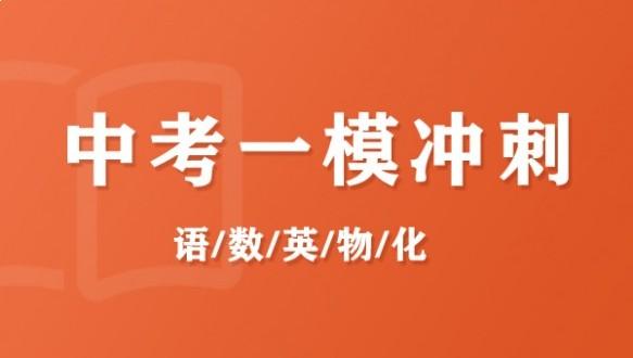 上海昂立--中考一模沖刺班網課
