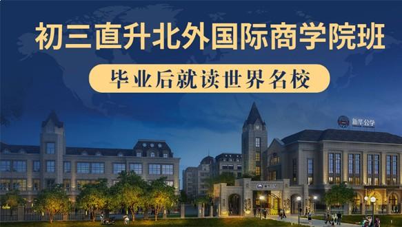 合肥新华公学北外国际商学院直升班